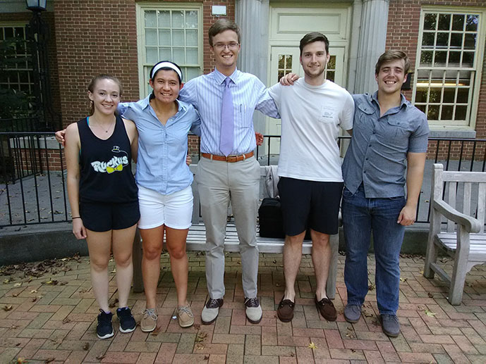 eta sigma phi 2018-2019 officers