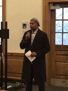 14 Black Classicists exhibit reception photos