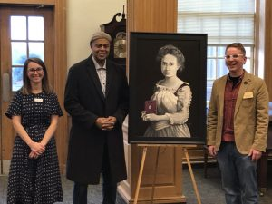 Centering Black Classicists exhibit kick-off reception photo