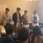 Image for Eta Sigma Phi Initiation Reception