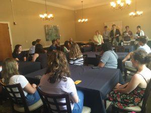 Eta Sigma Phi reception