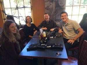 Classics Luncheon with Students and Professor Gellar-Goad, Professor Hunter Gardner