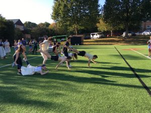 Ancient Olympics students participate in competition