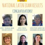 Image for National Latin Exam Results!