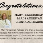 Image for Mary Pendergraft Leads American Classical League