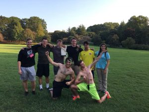 students participate in the Ancient Olympics