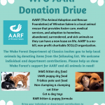 Image for WFU AARF Donation Drive